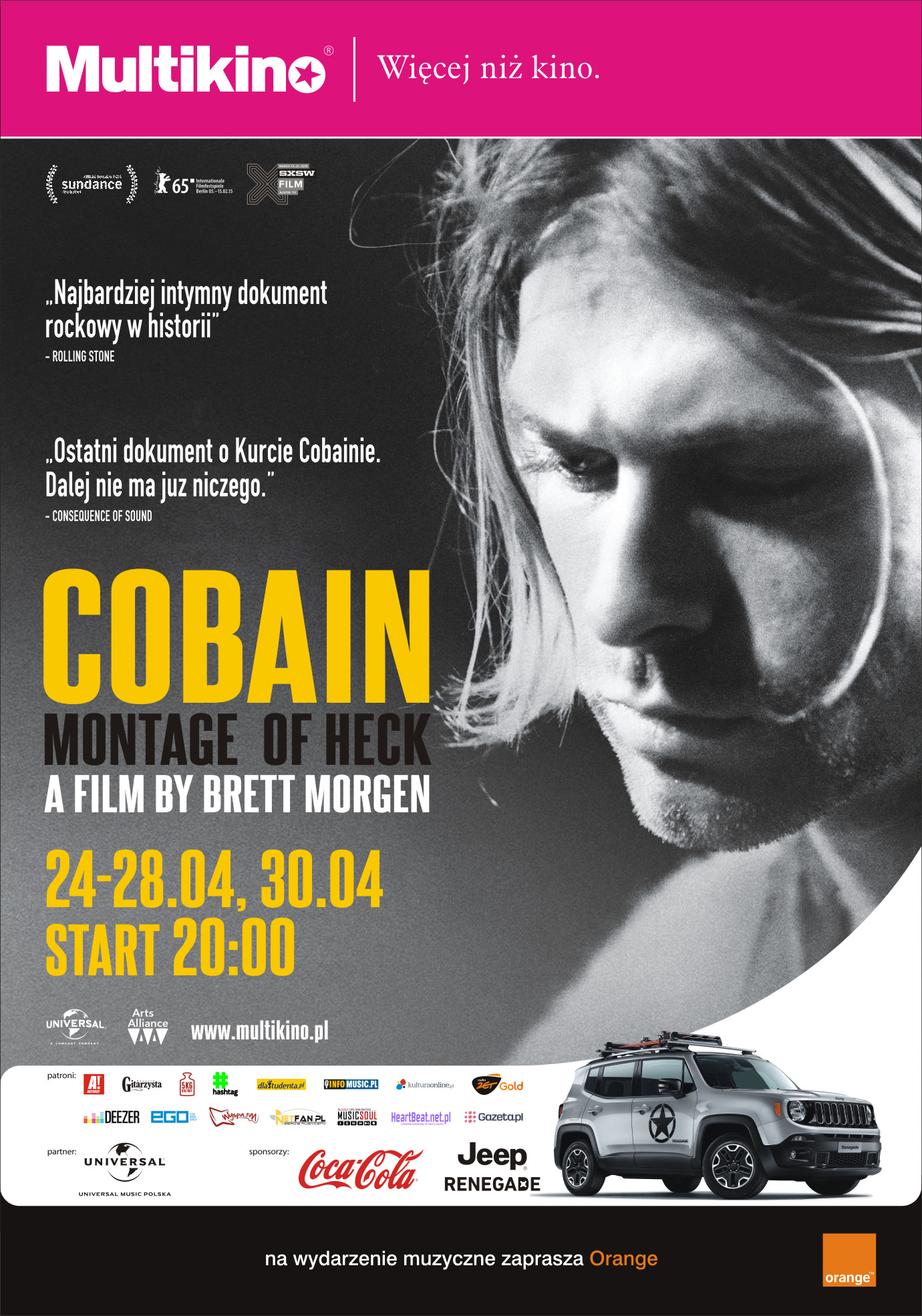 Cobain - nowe daty