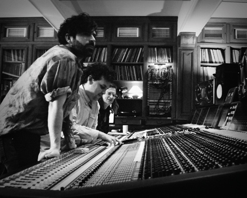 yannis james and jimmy at desk