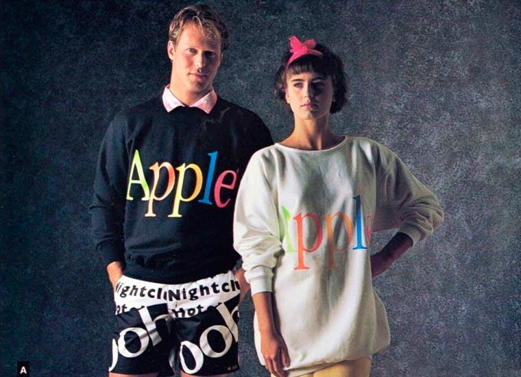 apple, ubrania