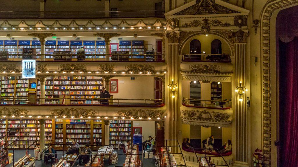 el ateneo grand, księgarnia najpiękniejsza