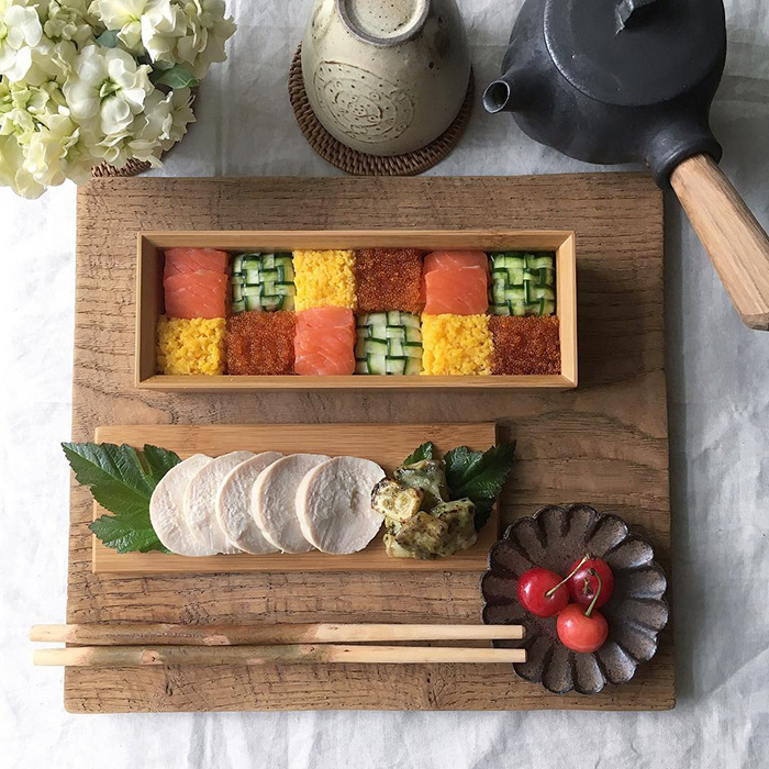 sushi mozaika
