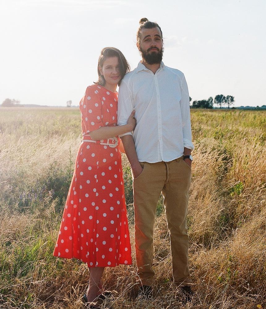 YOPE - Karolina i Paweł, twórcy marki, fot. Zuza Krajewska Cropped