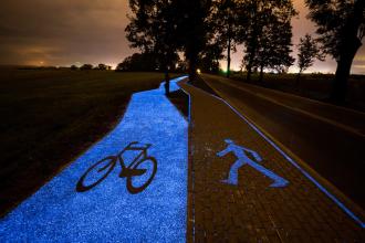 świecącą ścieżka