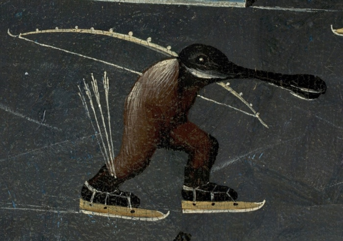 bosch_hieronymus_-_the_garden_of_earthly_delights_right_panel_-_detail_skating_monster_mid-right