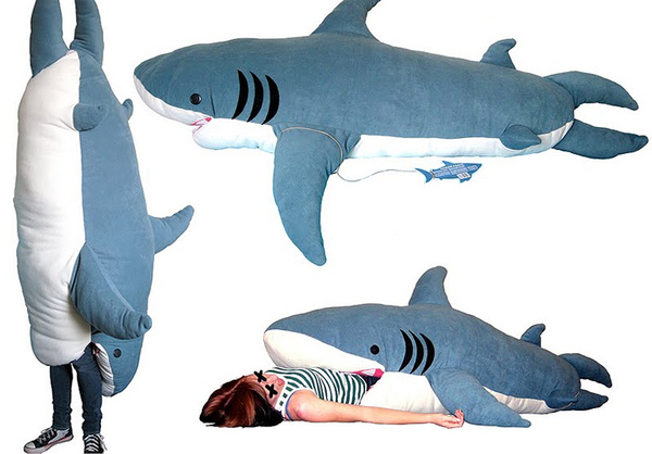 rekin, śpiwór