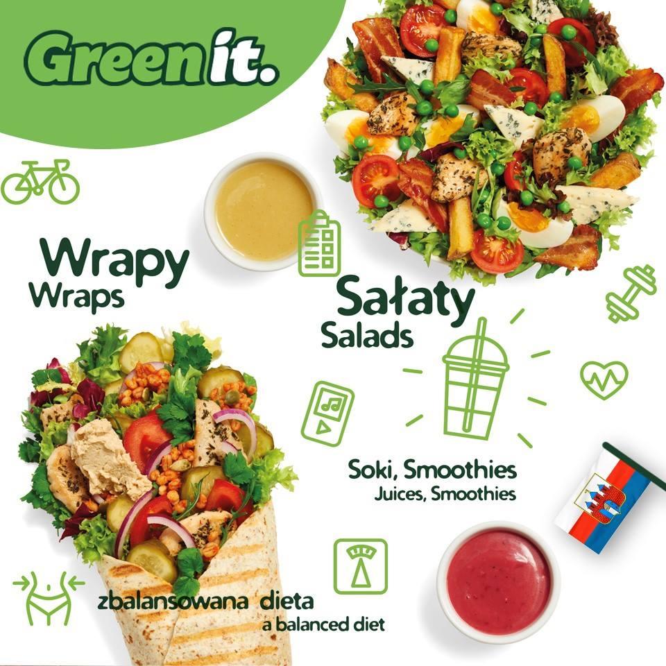 Wyzwanie Green It Skomponuj Swoj Zielony Zestaw I Wygraj Diete