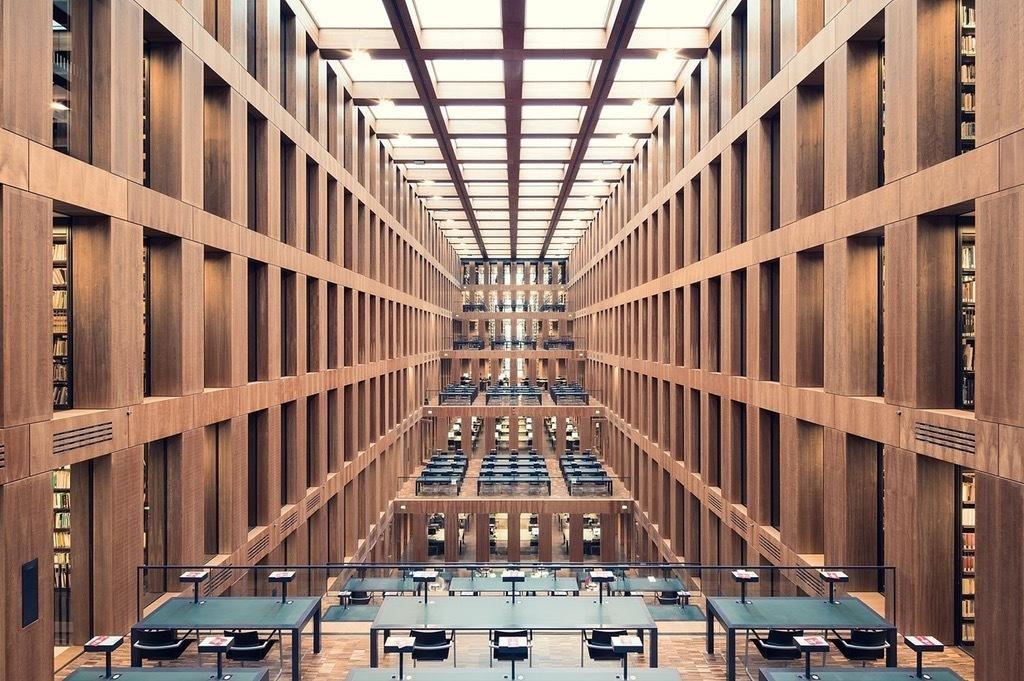 Grimm Zentrum Library, Berlin