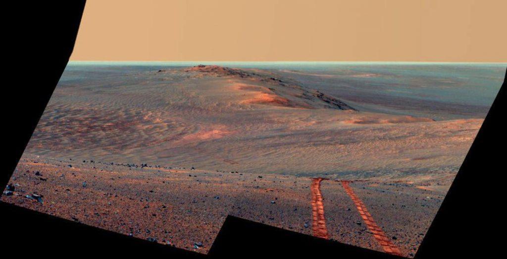 Zdjęcia Marsa zrobione przez roboty