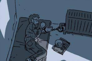 Opowieść ze 111 dni i nocy, czyli nowy komiks Guya Delisle