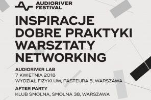 Konferencja muzyczna w nowej odsłonie. W kwietniu rusza Audioriver Lab