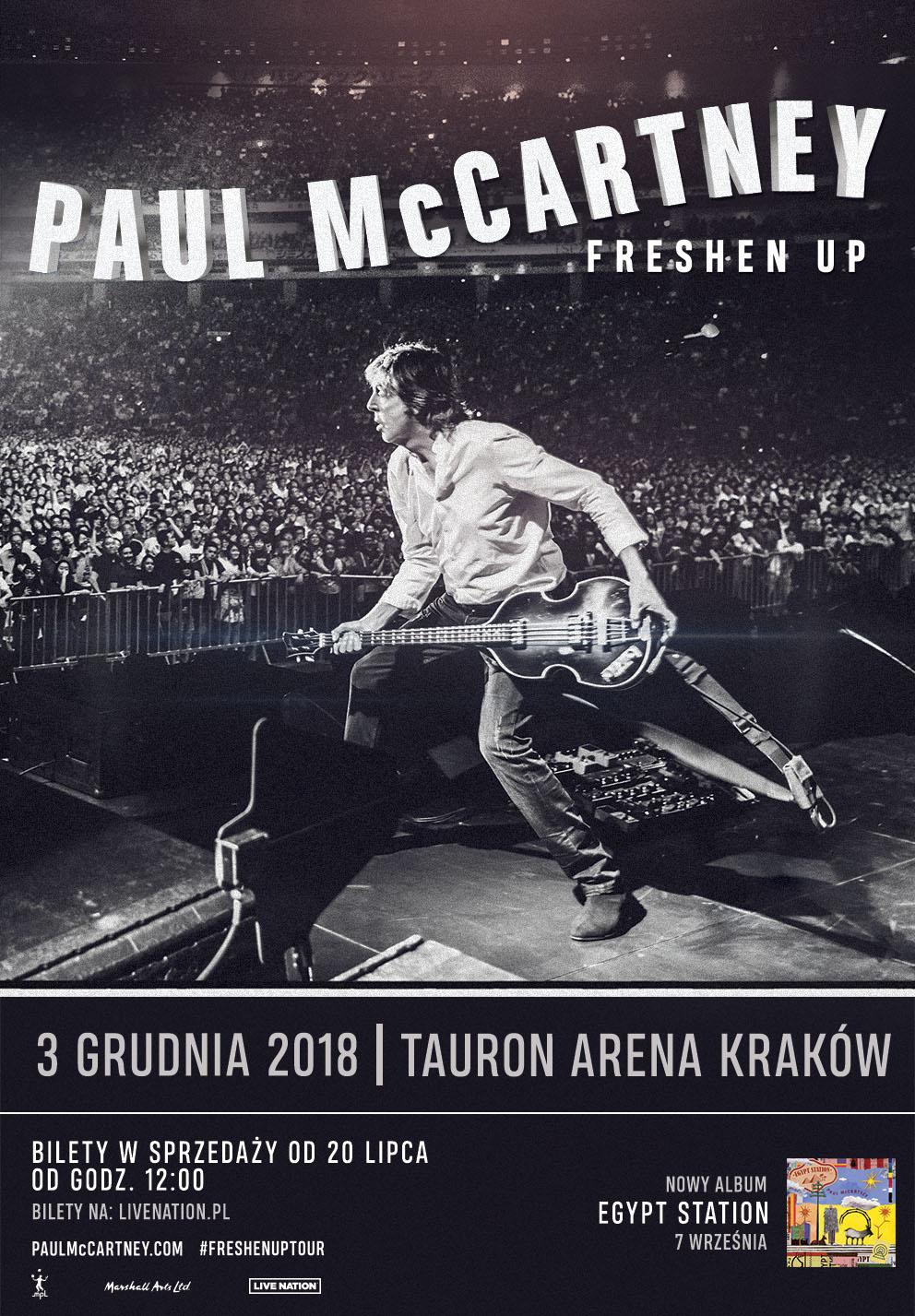 The Beatles Polska: Paul McCartney zagra w Krakowie