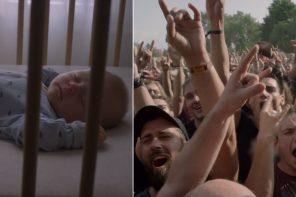 Ustawili łóżeczka dziecięce na festiwalu heavy metalowym. Tak reklamowali swoje dźwiękoszczelne okna