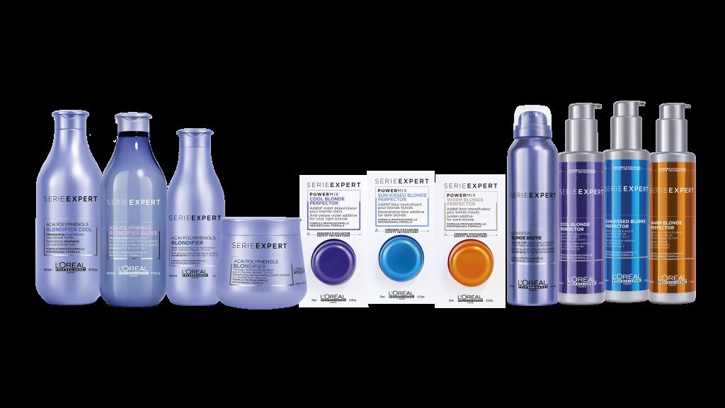 Série Expert Blondifier - produkty do pielęgnacji włosów blond