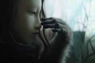 Bez tytułu (Ludzka maska)