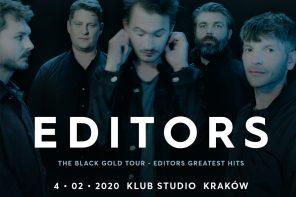 Editors  już za tydzień na dwóch koncertach w Polsce! Mamy dla Was bilety