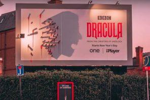 """Billboard może być fajny czyli zaskakująca kampania serialu """"Dracula"""""""