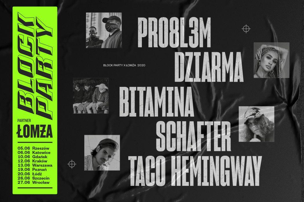 Taco Hemingway trasa 2020