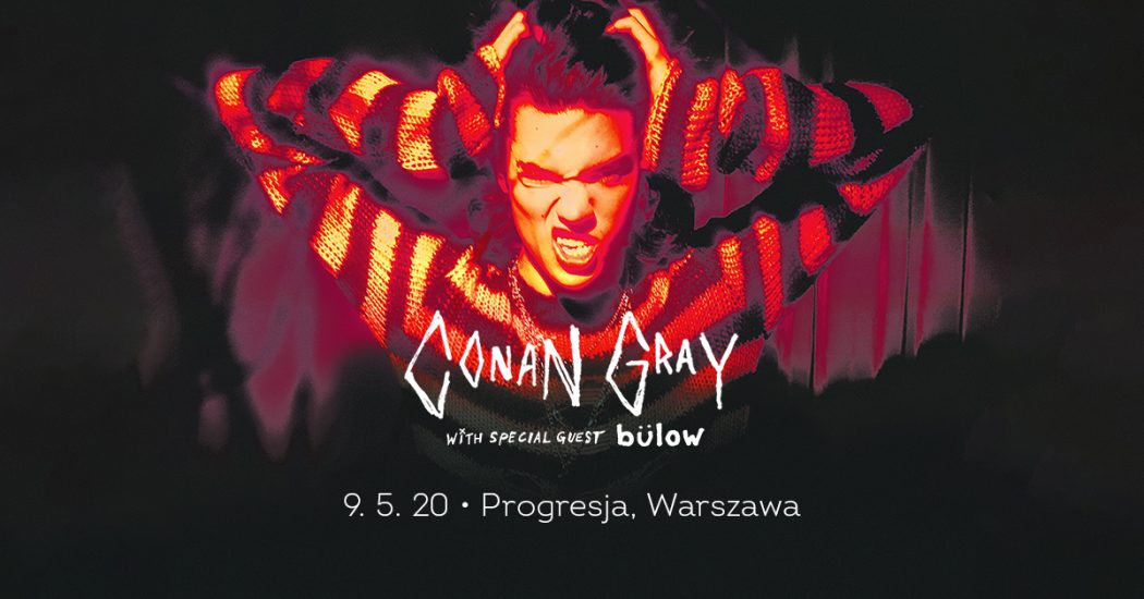 conan gray koncert w polsce