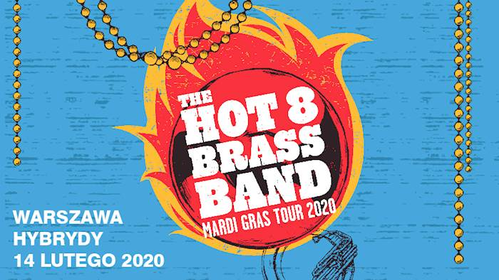 the hot 8 brass band koncert w hybrydach