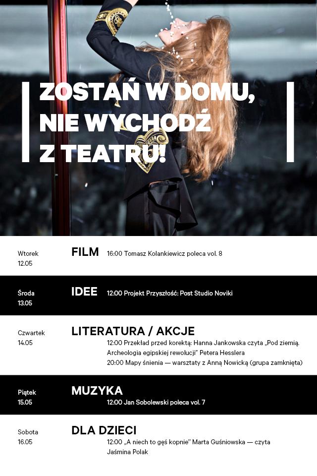 nowy teatr ramówka maj 2020