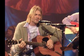 cobain gitara aukcja