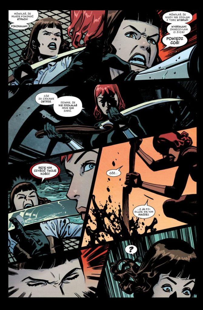 komiks czarna wdowa