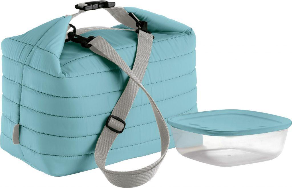 Lekka torba termiczna to część kolekcji On the Go stworzonej przez markę Guzzini.