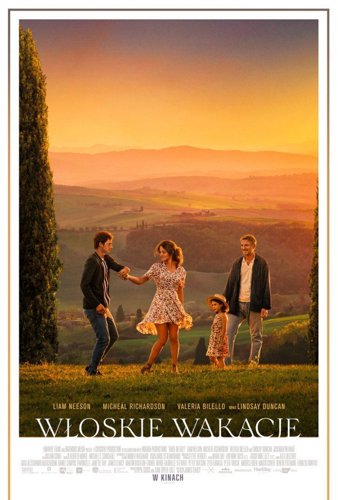 włoskie wakacje plakat