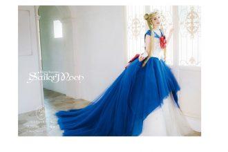 czarodziejka z księżyca sukienka ślubna