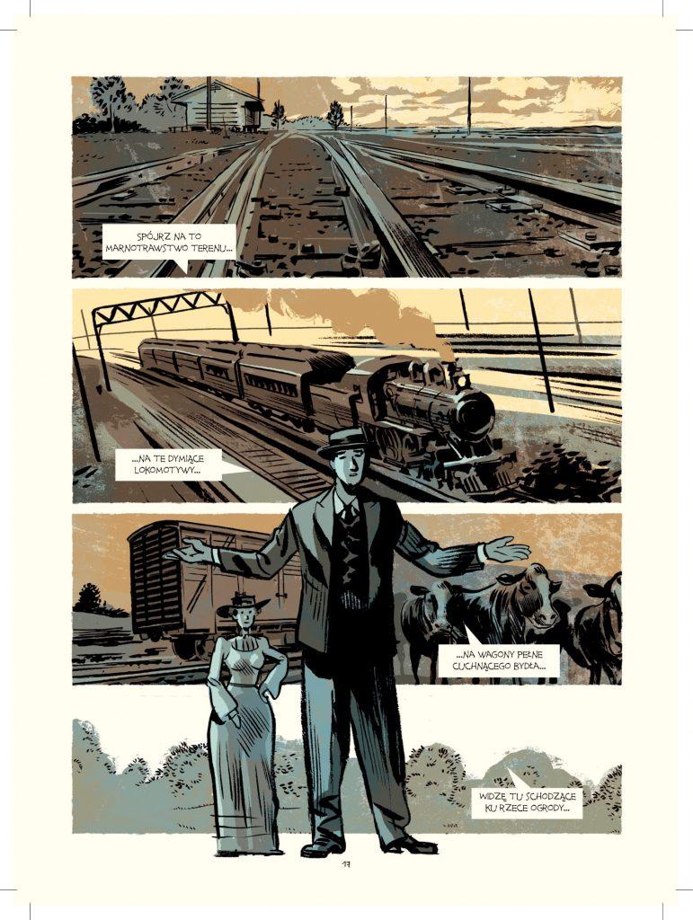 recenzja komiksu Robert Moses. Ukryty władca Nowego Jorku
