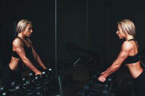 lustro do fitnessu