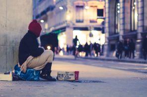 londyn bezdomni akcja charytatywna