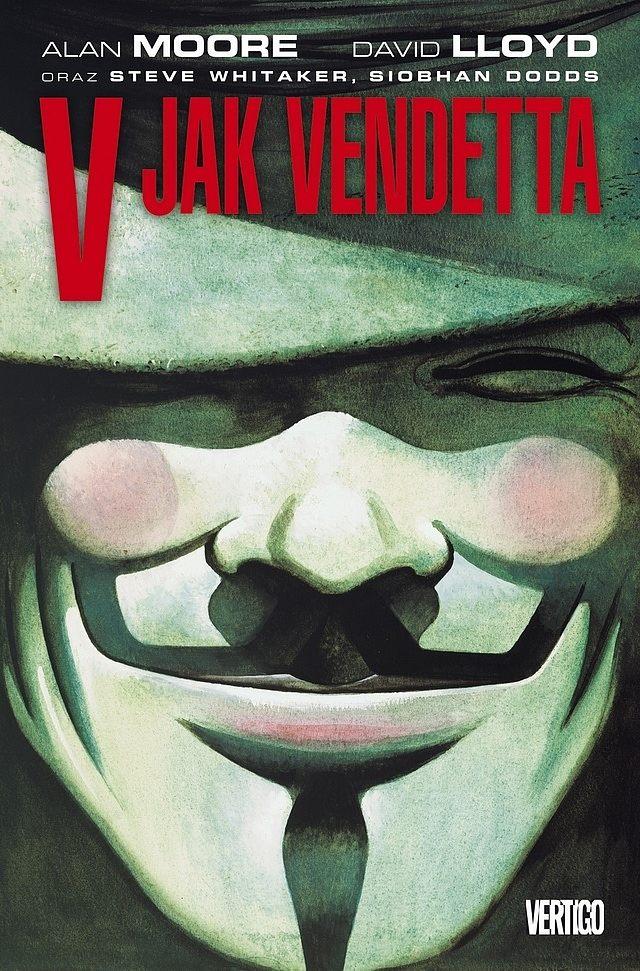 V jak Vendetta komiks