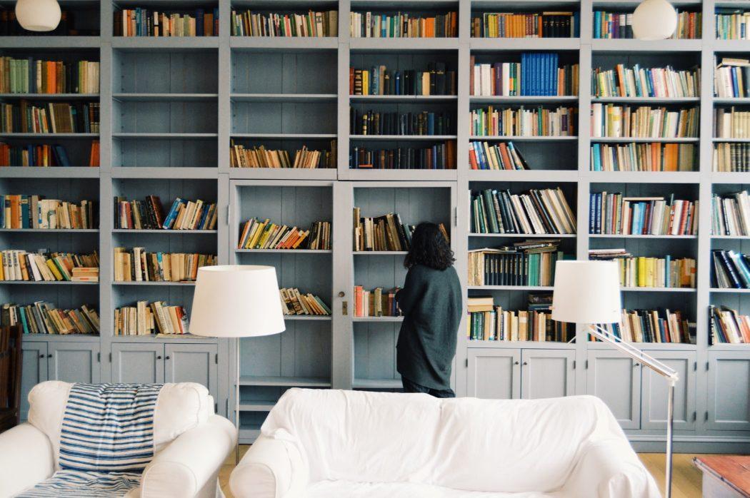 ksiązki w tle zoom