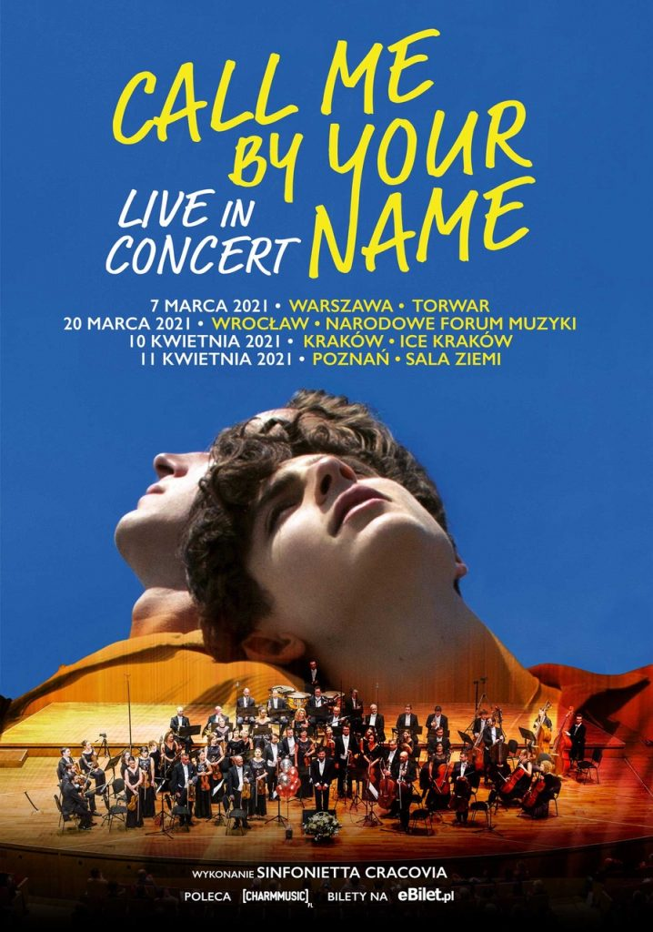 call me by your name koncert
