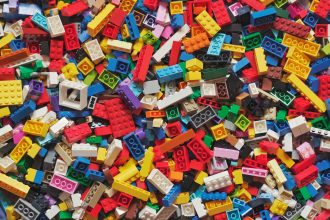 lego plastik