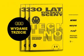 """Trzecie wydanie książki """"30 lat polskiej sceny techno""""!"""